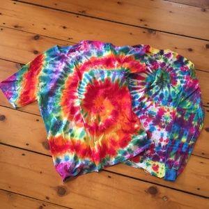 Tie-dye shirt pack 🌞🌈